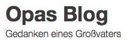 Opas Blog Logo